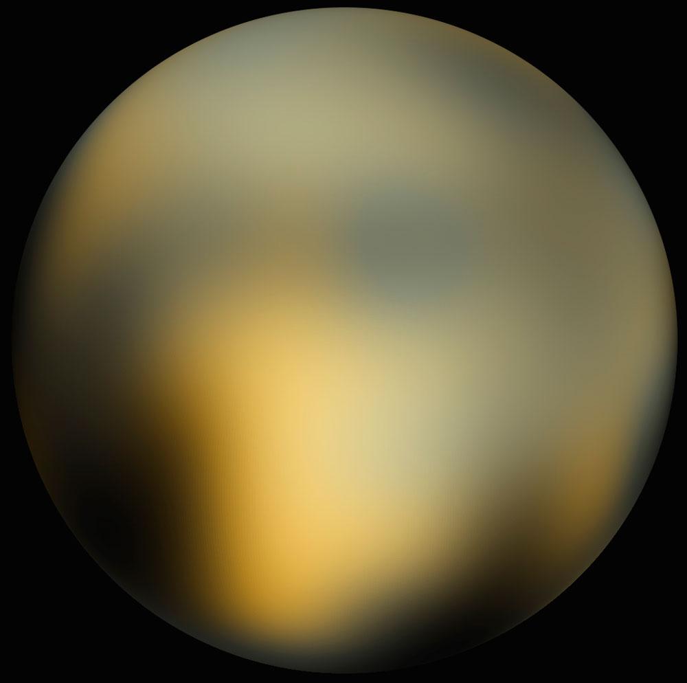 """Chất tạo nên sự sống """"tồn tại trên sao Diêm Vương"""""""