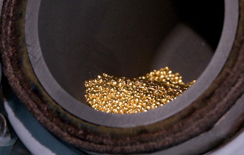 Loại vàng mới không xước, cứng hơn thép