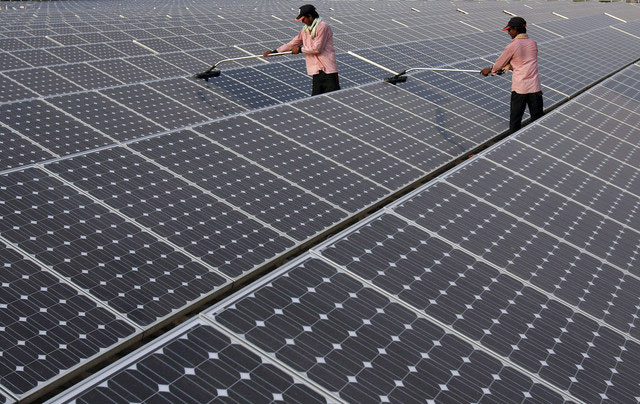 Bùng nổ năng lượng mặt trời tại Ấn Độ