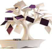 Sạc pin cho điện thoại từ cây bonsai