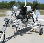 Xe máy biết bay tại Mỹ