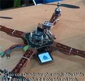 Video: Sinh viên chế tạo thiết bị bay không người lái
