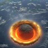 Video minh họa cảnh tượng Nibiru đâm trái đất