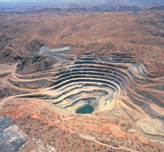 Một mỏ uranium