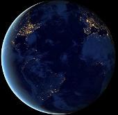 Video: Hình ảnh địa cầu vào ban đêm