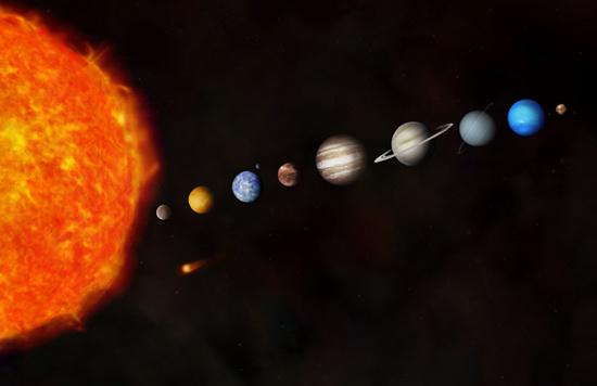 Hệ mặt trời của chúng ta