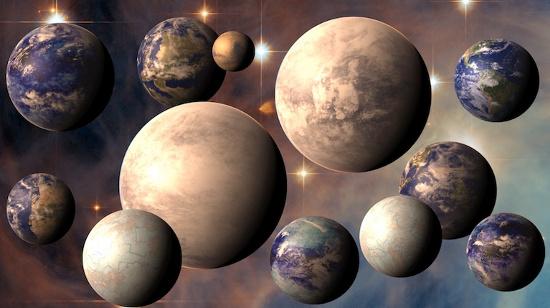 Xác định 7 hành tinh có thể sinh sống