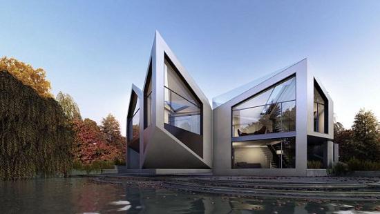 Ngôi nhà có thể thay đổi hình dạng để thích ứng với thời tiết
