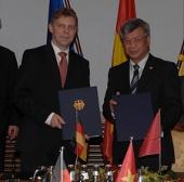 Việt Nam-Đức ký ý định thư về khoa học công nghệ