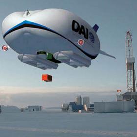 Dự án Atlant: Khinh khí cầu lai máy bay độc đáo