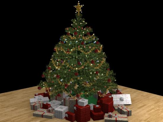 Nếu một cây thông Noel cao 180cm sẽ có 37 đồ vật trang trí, chiều dài của các sợi dây kim tuyến là 919cm.