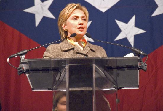 Ngoại trưởng Mỹ Hilary Clinton