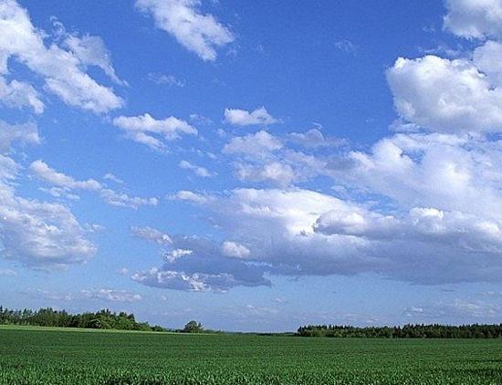 Bầu trời màu xanh