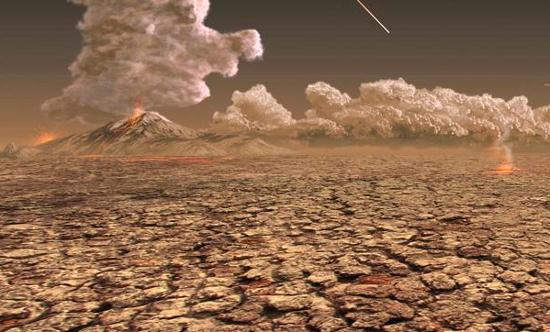 Quang cảnh chết chóc vào cuối kỷ Permi theo tưởng  tượng của giới khoa học