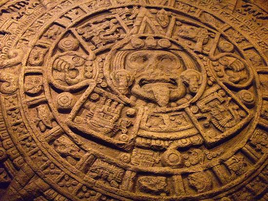 Bộ lịch của người Maya.
