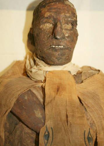 Hình ảnh xác ướp của Pharaoh Ai Cập Ramses Đệ tam