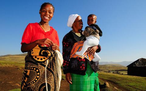Cao nguyên ở Ethiopia