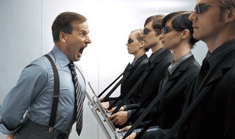 Nóng tính có thể trở thành lợi thế của các nhà quản lý khi họ phải cạnh  tranh với các đồng nghiệp để leo lên chức vụ cao hơn.