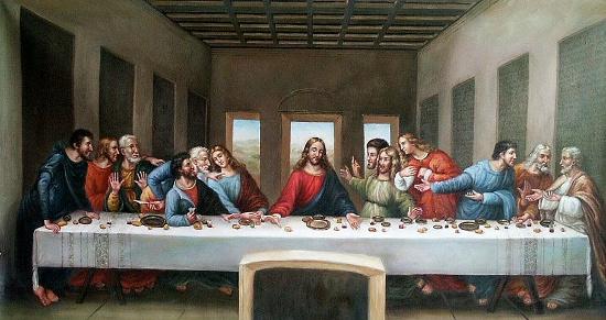 Chúa Jesus và 12 Tông Đồ.