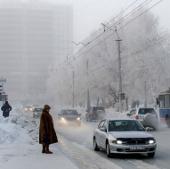 Nước Nga trải qua ngày giá rét nhất trong mùa đông