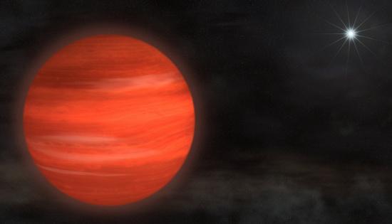 Siêu hành tinh lớn gấp 13 lần sao Mộc