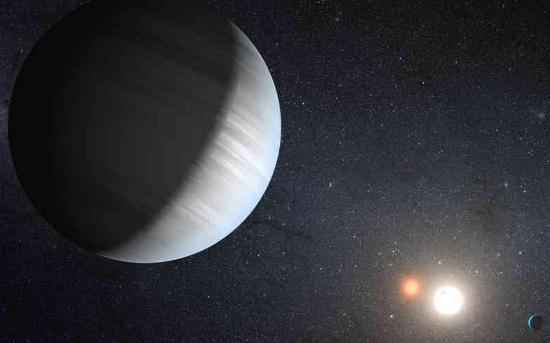 Hệ hành tinh quay quanh 2 ngôi sao