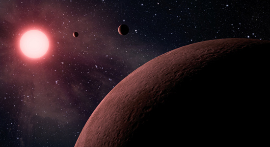 Phát hiện 2 hành tinh nhỏ hơn trái đất