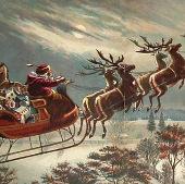 Tại sao những con tuần lộc của ông già Noel biết bay?