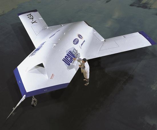 X-45 là một trong những UAV thế hệ mới đầu tiên được Lầu Năm góc đặt hàng.