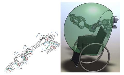 Mô hình cánh tay robot