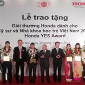 Trao giải thưởng cho kỹ sư và nhà khoa học trẻ Việt Nam
