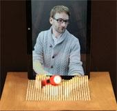 """Video: Màn hình """"nổi 3D"""" thực thụ của Đại học MIT"""