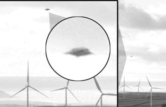 Thực hư chuyện đĩa bay bí ẩn xuất hiện ở Anh