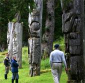 Nhiều cây khổng lồ ở công viên quốc gia Gwaii Haanas