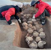Tìm thấy 80 hộp sọ trong thành phố đồ đá ở Trung Quốc