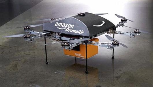 Amazon: Chuyển hàng bằng thiết bị bay không người lái