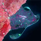 Một số khung hình độc đáo về trái đất nhìn từ vệ tinh