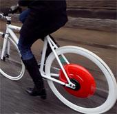 """Bánh xe Copenhagen biến mọi xe đạp thành xe """"lai"""""""