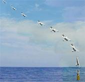 Máy bay được phóng từ tàu ngầm