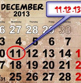 11-12-13 - Ngày của trăm năm trong thế kỷ 21