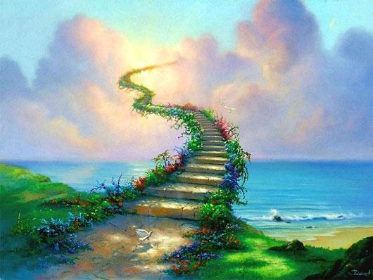 Thiên đường trong trí tưởng tượng của con người