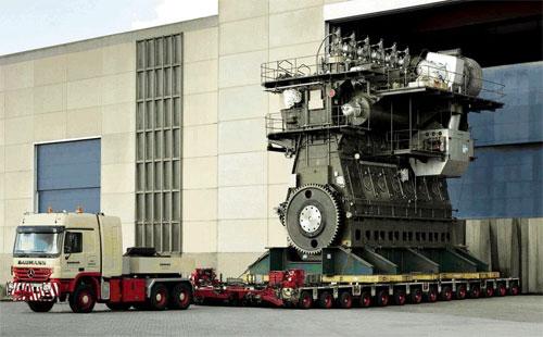 Động cơ lớn nhất thế giới với hơn 100.000 sức ngựa