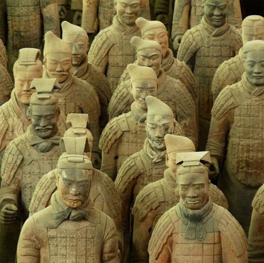 Giả thuyết mới về đội quân đất nung Tần Thủy Hoàng