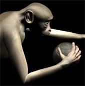 Cho khỉ dùng mô hình ảo và cải tiến bộ phận giả ở người tàn tật
