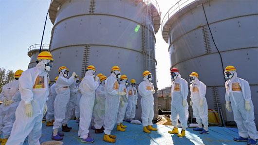 Nhật chi 970 triệu USD xây nơi lưu giữ đất nhiễm xạ