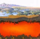 Dấu vết siêu núi lửa cổ đại tại Utah