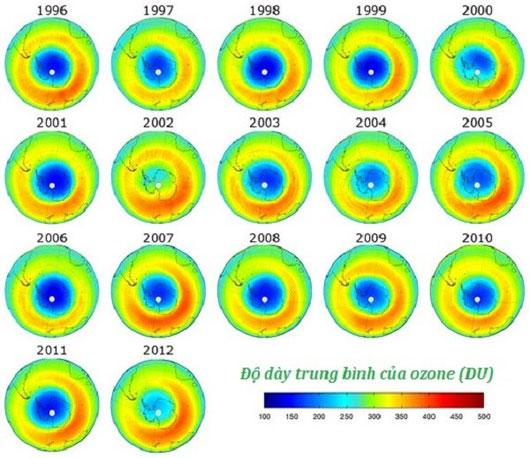 Lỗ thủng tầng ozone có thể được chữa lành vào năm 2070