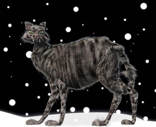 Mèo Yule hay chú mèo Giáng sinh là một con quái vật xuất hiện trong văn hóa dân gian Iceland. Mèo Yule được miêu tả rất lớn và xấu xa, chúng hay ẩn nấp ở những vùng nông thôn đầy tuyết trong dịp lễ Giáng sinh và ăn thịt ai không có quần áo mới để mặc trước lễ Giáng sinh.