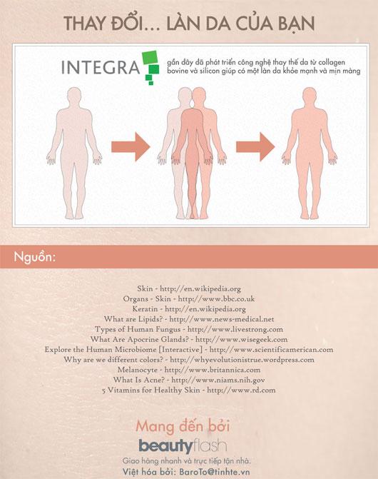 50 sự thật về da