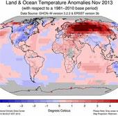 Tháng 11 nóng nhất trong 134 năm